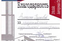 О2017 Благодарность АПузакова